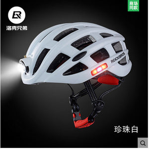 Cycling Helmet - Waterproof Light - For Road MTB Bike USB Charging