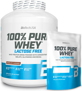 100% Pure Whey Protein Lactose Free