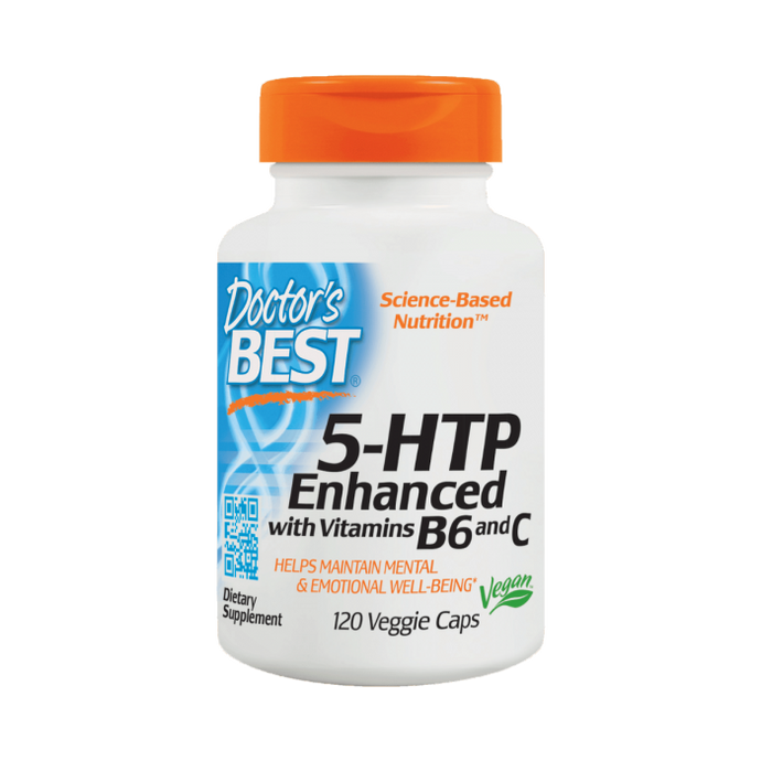 5-HTP Enhanced with Vitamin B6 and C | 120 vcaps