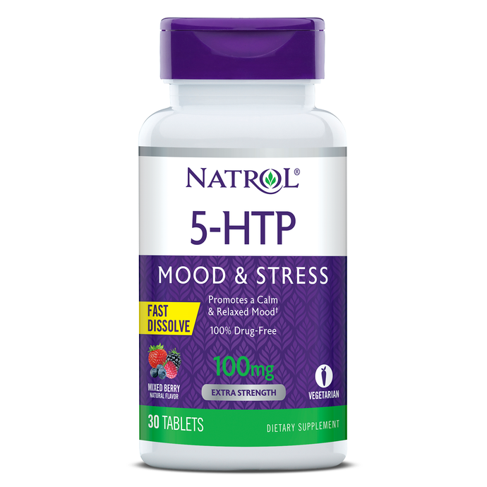 5-HTP Fast Dissolve 100mg | 30 tablets