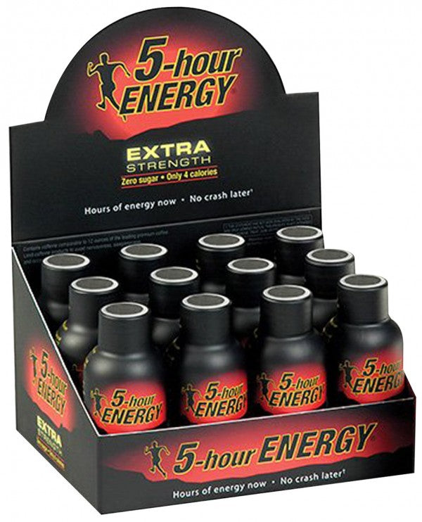 5-Hour Energy Extra Strength | Berry Flavour | 12 shots