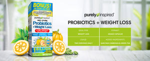 100% Pure Probiotics + Weight Loss | 84 vcaps