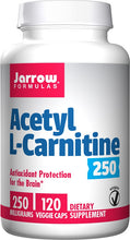 Load image into Gallery viewer, Acetyl-L-Carnitine | 250mg | 120 Caps
