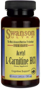Acetil L-Carnitina HCl | 500mg | 60 vcaps