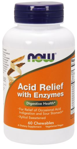 Acid Relief with Enzymes | 60 chewables