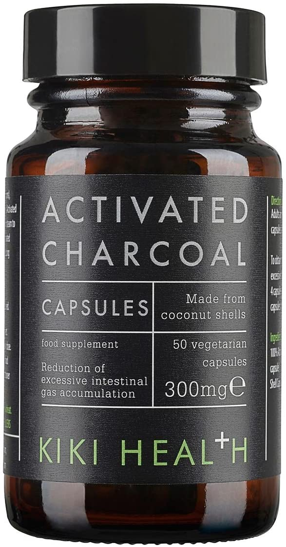 Activated Charcoal | 300mg | 50 vcaps