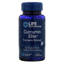 Load image into Gallery viewer, Advanced Curcumin Elite Turmeric Extract, Ginger & Turmerones | 30 softgels