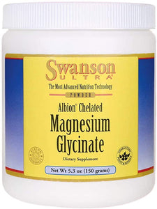 Albion Chelated Magnesium Glycinate Powder | 150 grams