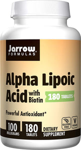 Alpha Lipoic Acid | 100mg with Biotin