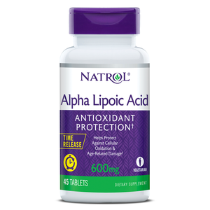 Alpha Lipoic Acid Time Release | 600mg | 45 tablets
