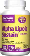 Load image into Gallery viewer, Alpha Lipoic Sustain | 300mg with Biotin