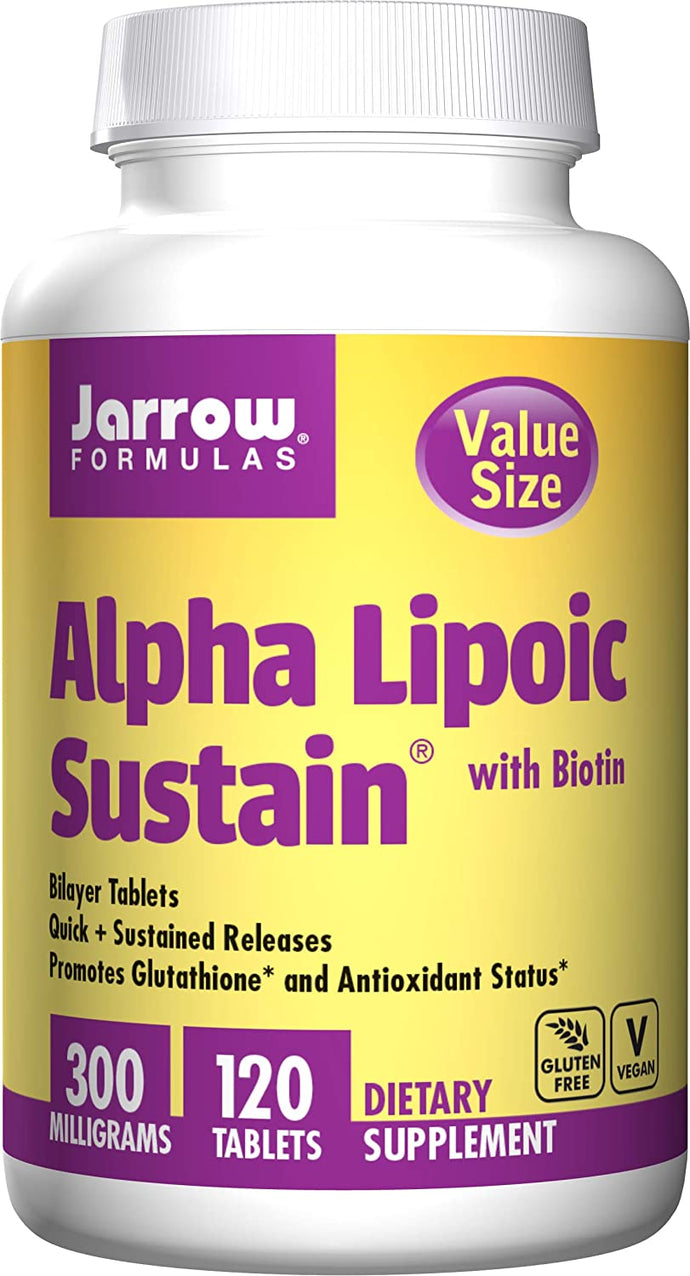 Alpha Lipoic Sustain | 300mg with Biotin