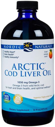 Arctic Cod Liver Oil | 1060mg Orange | 473 ml