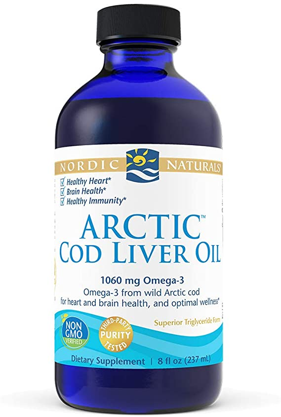 Arctic Cod Liver Oil | 1060mg | 273 ml