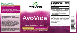 AvoVida | 300mg Maximum Strength | 60 caps