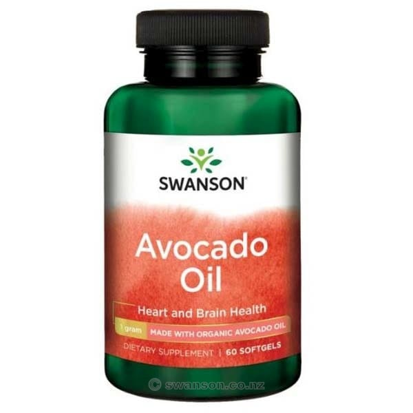 Avocado Oil | 1000mg | 60 softgels