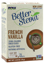 Load image into Gallery viewer, Better Stevia Packets | French Vanilla | 75 packets