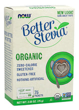 Load image into Gallery viewer, Better Stevia Packets | Organic | 75 packets