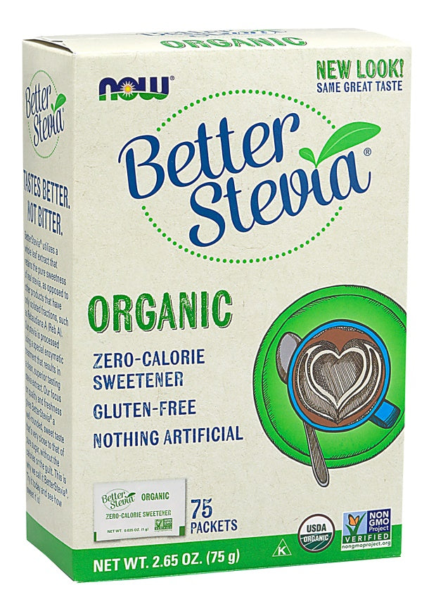 Better Stevia Packets | Organic | 75 packets