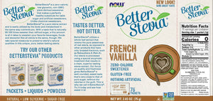 Better Stevia Packets | French Vanilla | 75 packets