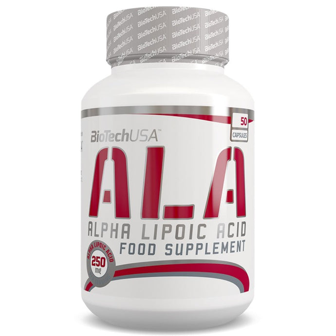 ALA Alpha Lipoic Acid | 250mg | 50 Caps