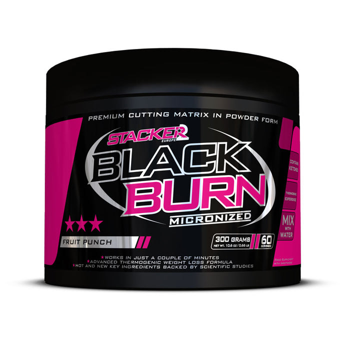 Black Burn Micronized | 300 grams