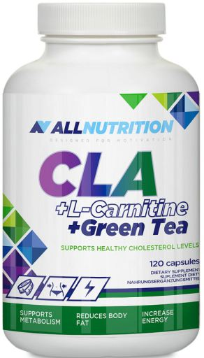 CLA + L-Carnitine + Green Tea | 120 caps