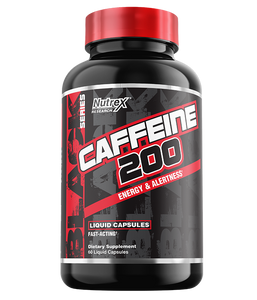 Caffeine 200 | 60 liquid Caps