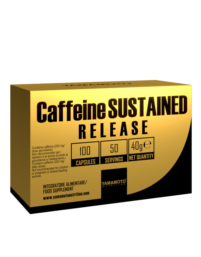 Caffeine Sustained Release | 100 Caps