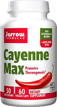 Load image into Gallery viewer, Cayenne Max | 50mg | 60 vcaps