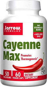 Cayenne Max | 50mg | 60 vcaps