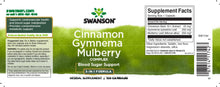 Load image into Gallery viewer, Cinnamon Gymnema Mulberry Complex | 120 caps