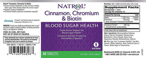 Cinnamon, Chromium & Biotin | 60 tablets