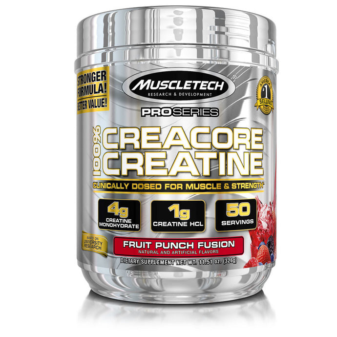 CreaCore Creatine | Fruit Punch Fusion | 326 grams