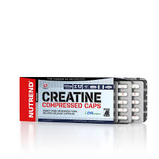 Creatine Compressed Caps | 120 caps