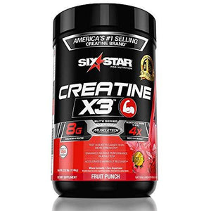 Creatine X3 | Fruit Punch | 1140 grams
