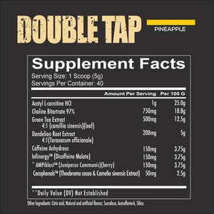 Double Tap | 200 grams