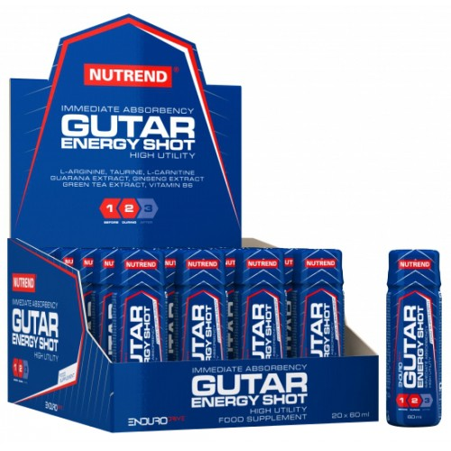 Gutar Energy Shot | 20 x 60 ml.