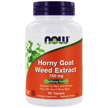 Load image into Gallery viewer, Horny Goat Weed Extract | 750mg | 90 tablets