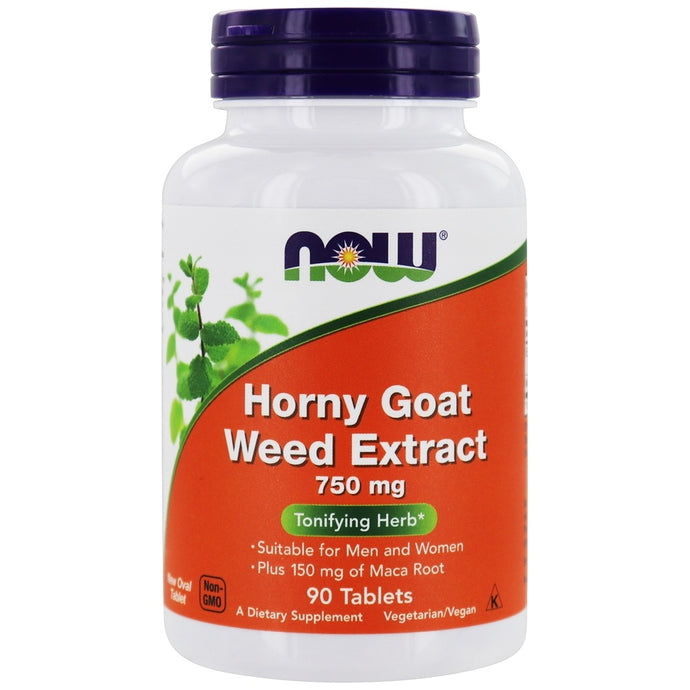 Horny Goat Weed Extract | 750mg | 90 tablets