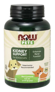 Pets, Kidney Support for Dogs & Cats Powder | 119 grams