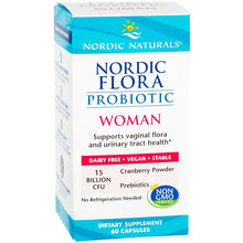 Load image into Gallery viewer, Nordic Flora Probiotic Woman | 60 Caps