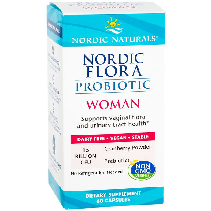 Nordic Flora Probiotic Woman | 60 Caps