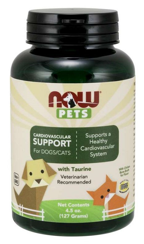 Pets, Cardiovascular Support for Dogs & Cats Powder | 127 grams