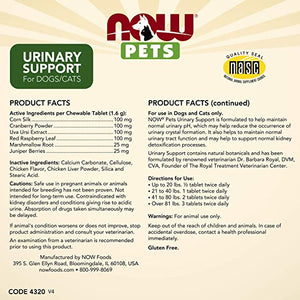 Pets, Urinary Support | 90 chewable tablets