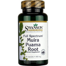 Load image into Gallery viewer, Full-Spectrum Muira Puama Root | 400mg | 90 caps
