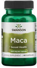Load image into Gallery viewer, Maca Extract | 500mg | 60 Caps