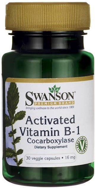 Activated Vitamin B-1 (Cocarboxylase) | 30 vcaps