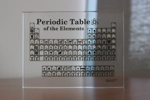 Heritage Periodic Table - 83 Element Embedments