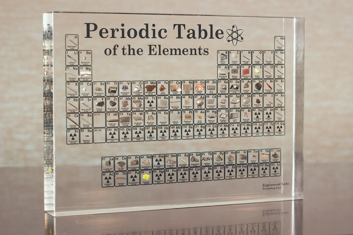 Heritage Periodic Table Collector S Edition 85 Elements Engineered Labs